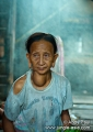 Lipok Baya, an elderly Penan from the in...