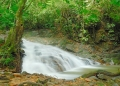The lower tier of Ulu Geruntum waterfall...