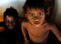 Seletar sea gypsy children. These gentle...
