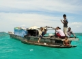 Bajau Laut or Orang Laut of Bodgaya.  Co...
