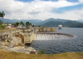 The Sungai Selangor Dam and reservoir, o...