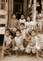 Seletar sea gypsy children from Kampung ...