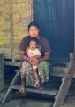 Jakun mother and child. The aboriginal J...